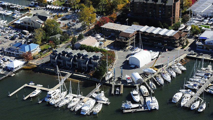 Yacht Haven of Annapolis. 326 Main Street, Annapolis Maryland